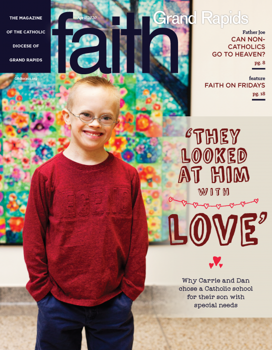 Faith Grand Rapids April 2020 Cover