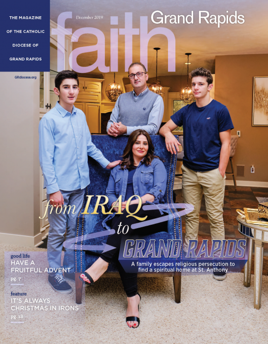 Faith Grand Rapids December 2019 Cover