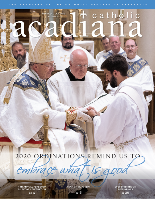 Diocese of Lafayette Magazine August 2020