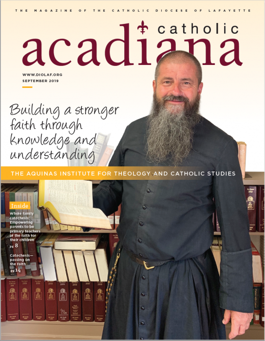Diocese of Lafayette Magazine September 2019