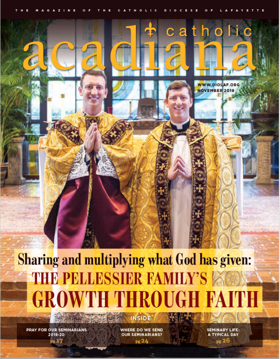 Diocese of Lafayette Magazine November 2019