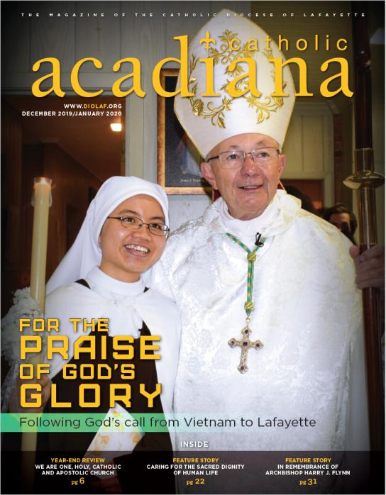 Diocese of Lafayette Magazine December 2019