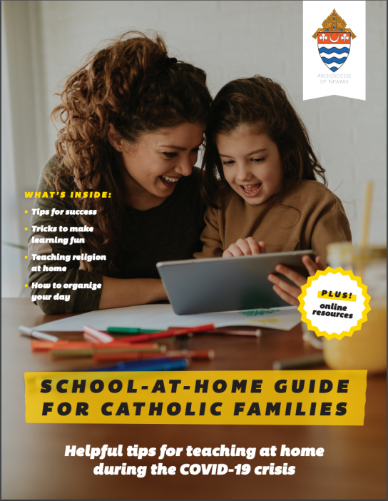 Archdiocese of Newark School at Home Magazine 2017