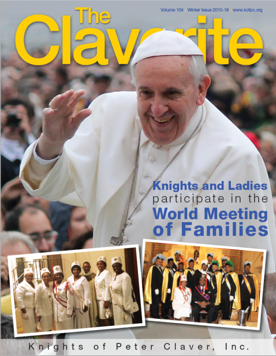 Knights of Peter Claver Magazine Winter 2015 Issue