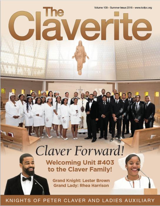 Knights of Peter Claver Magazine Summer 2018 Issue